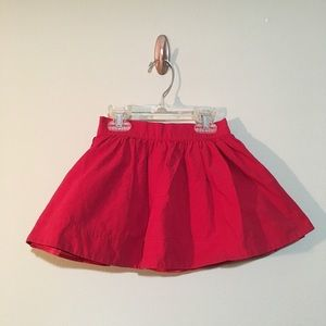 Janie and Jack skirt ready for Christmas!